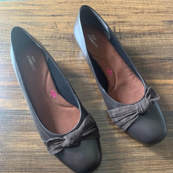 Ros Hommerson Tao Brown Leather Shoes Size 9.5